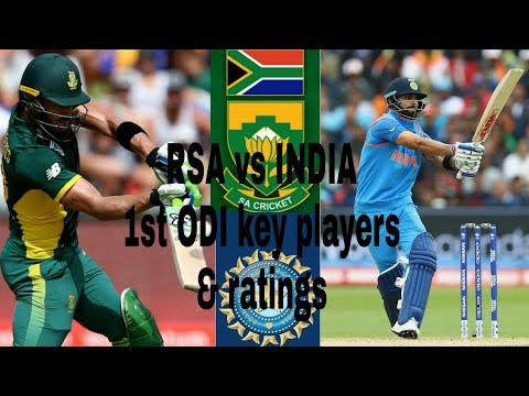 South Africa vs India 1st odi series key players & ratings||
