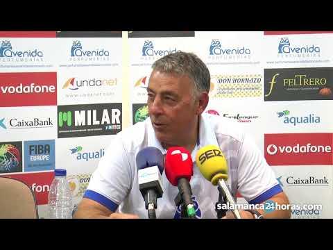 Rueda de prensa tras el Perfumerías Avenida - Quesos El Pastor | Copa CyL