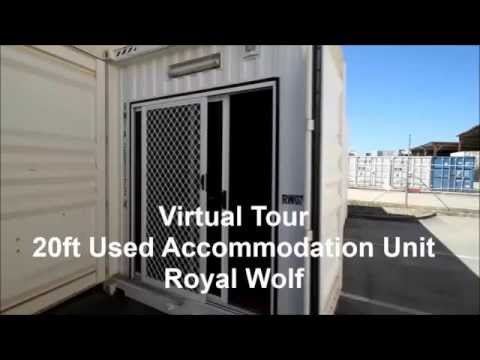 Royal Wolf 20ft Single Person, Self Contained Accommodation Container