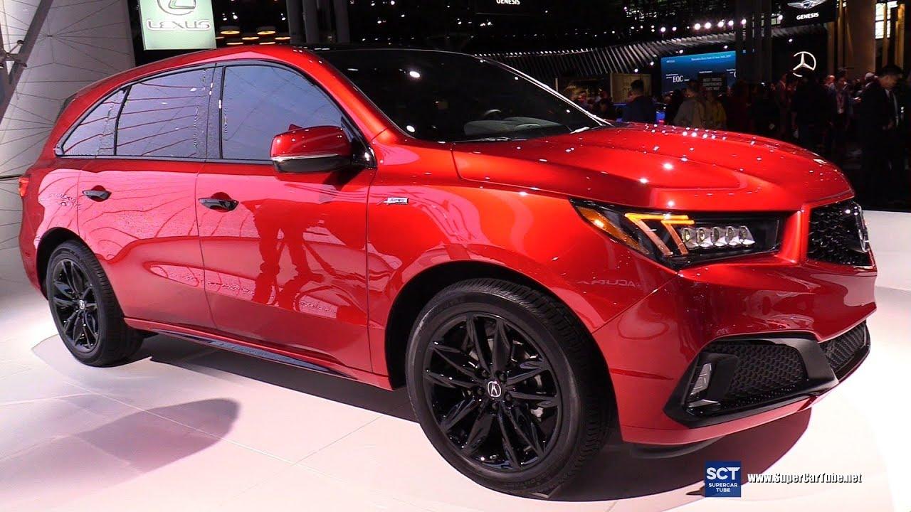 2020 Acura Mdx Exterior Walkaround 2019 New York Auto Show Youtube
