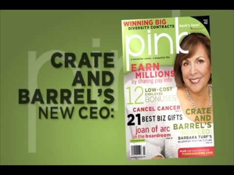 PINK Magazine's Holiday Issue (Dec.Jan 2009)- Barbara Turf