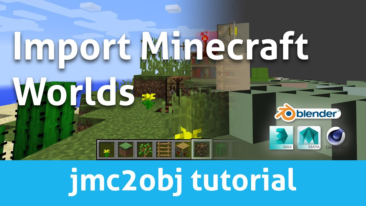 MCprep Minecraft World Imports | Moo-Ack! Productions