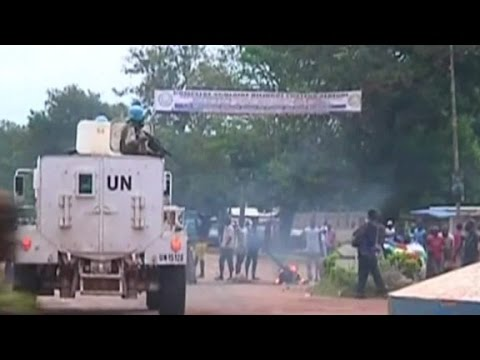 Outbreak of sectarian violence in Bangui