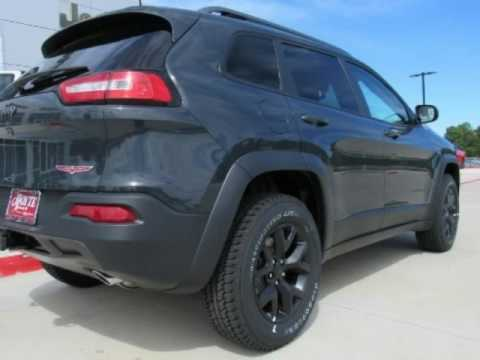 2017 Jeep Cherokee Trailhawk New Black Suv For Ada Ok