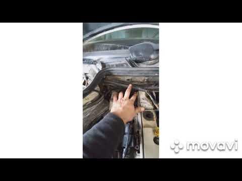 Самостоятельный ремонт подкапотной косы/Мотора м 104 2,8 литра/Мерседес w 124