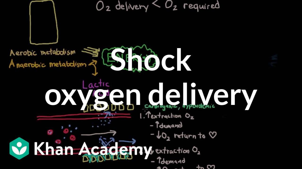 How Do You Spell Oxygen >> Shock Oxygen Delivery And Metabolism Video Khan Academy