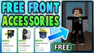 Je ne peux pas croire que ces accessoires roblox sont gratuits!