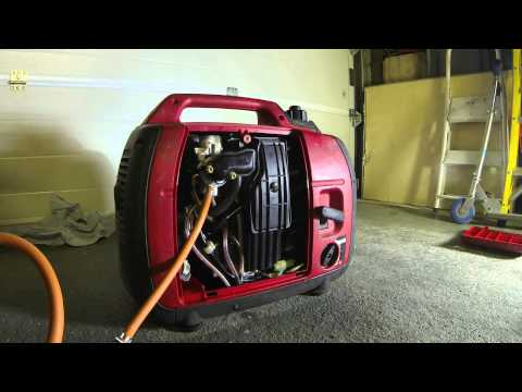 Honda EU 2000W Generator Gas Conversion