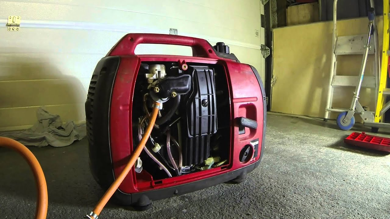 Honda EU 2000W Generator Gas Conversion - YouTube