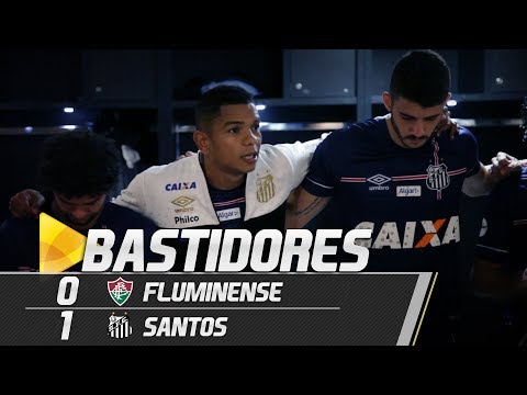 Fluminense 0 x 1 Santos | BASTIDORES | Brasileirão (13/06/18)