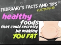 7 HEALTHY FOODS THAT CAN CAUSE BELLY FAT - making is easier for you to lose belly fat