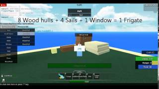 Roblox: Survival Beginnings - Crafting Boats!