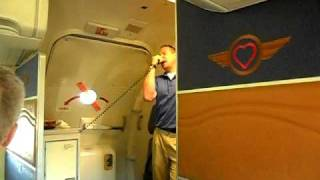 Southwest Airlines Larry the Cable Guy safety demo