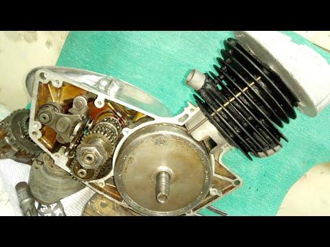DKW From USSR. Мотор К-125 - ВАУ...  Все вроде ХОРОШО - но все равно ВСЕ  ПЛОХО !!!