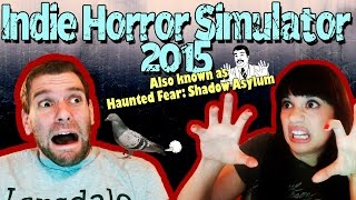 INDIE HORROR SIMULATOR 2015 HAUNTED FEAR SHADOW ASYLUM DEMO TERROR JUMPSCARE SCARY SCARY SCARY