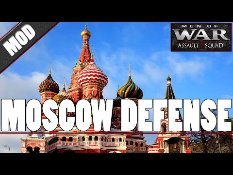 MOSCOW DEFENSE - Men of War: Assault Squad 2 [MOD]