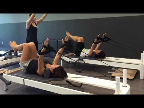 Sara's YMCA Pilates Group Reformer