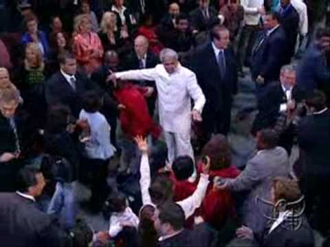 Benny Hinn - FIRE Falling on New Jersey Conference, 2008