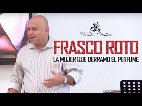 Frasco Roto - La mujer que quebró el perfume de gran precio