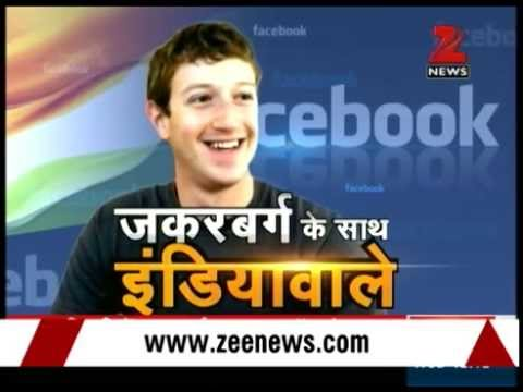Watch: Mark Zuckerberg's Townhall Q&A seminar at IIT-Delhi