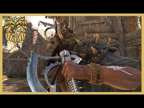 [For Honor] Rep 45 Berserker vs Skilled Player!