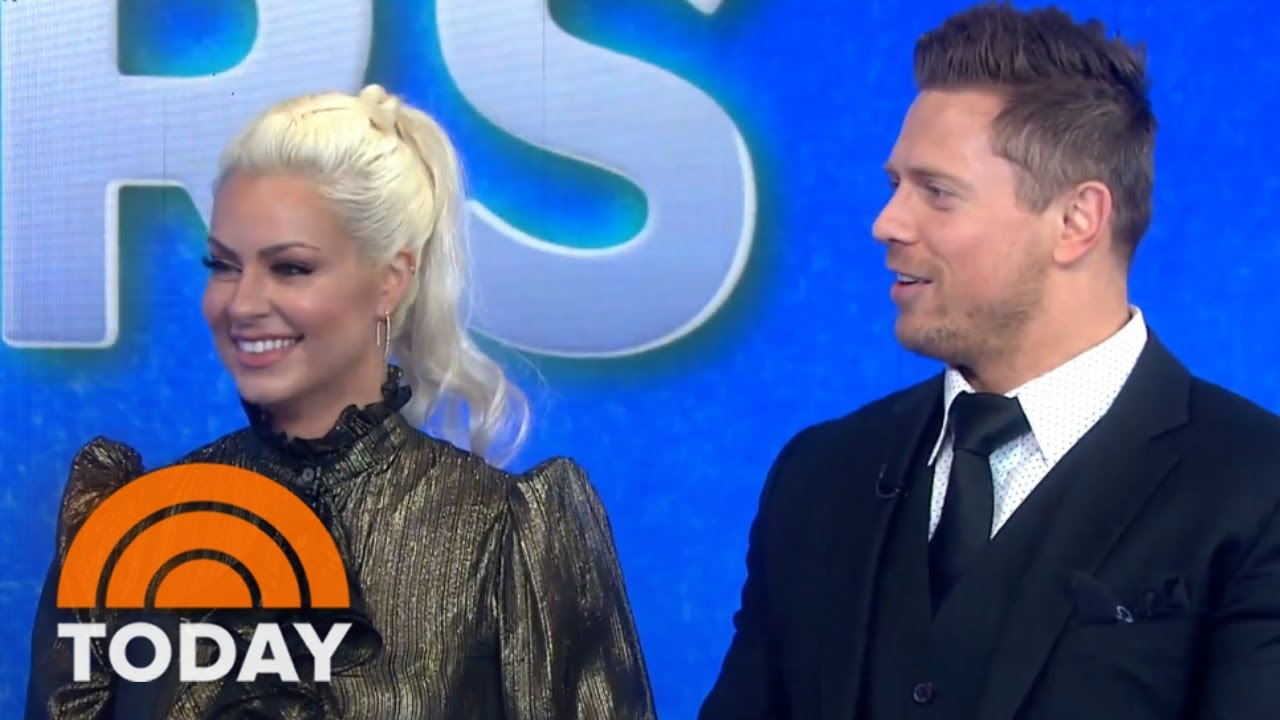 The Miz And Maryse Transform KLG And Elvis Duran Into WWE Stars | TODAY