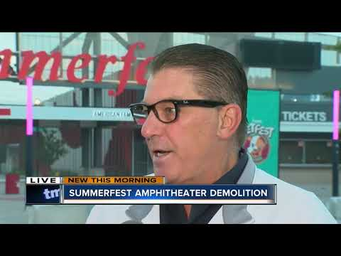 Summerfest Putting $50M Into Renovation Of American Family Insurance Amphitheater