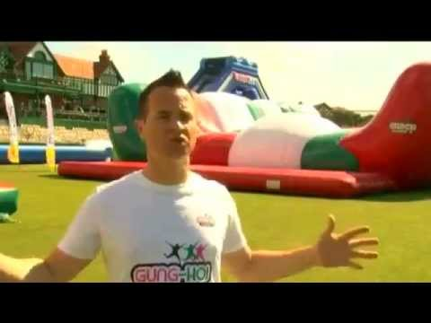 Ride Europe's largest inflatable slide in Liverpool