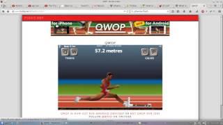 Hacking QWOP