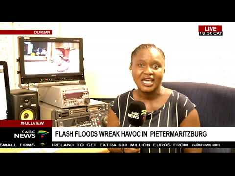 Flash floods wreak havoc in Pietermaritzburg