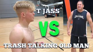 TRASH TALKING OLD MAN GETS EXPOSED! 1v1