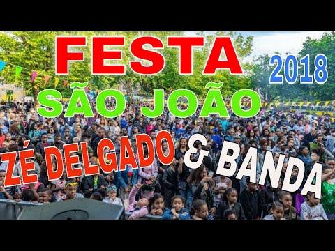 Zé Delgado, Festa São João 2018, Pracinha D'quebrod Roterdão.