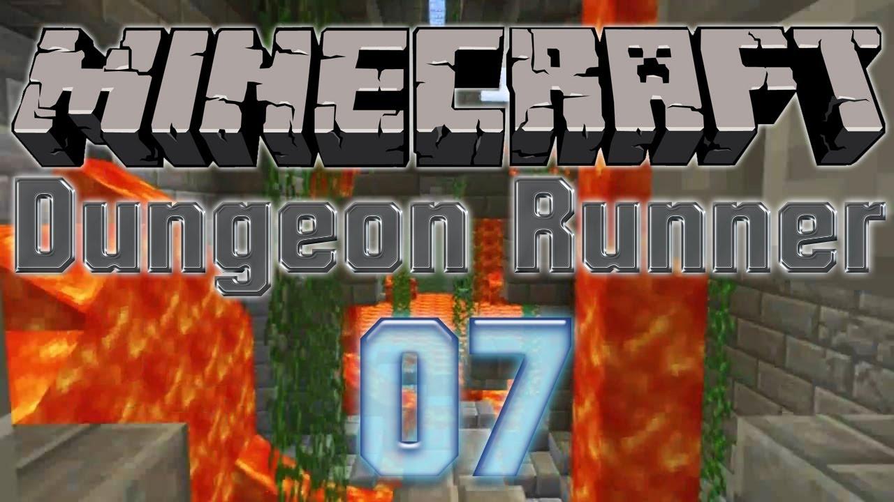 """Epic jump 'n' run: """"dungeon runner"""" #8 minecraft adventure."""