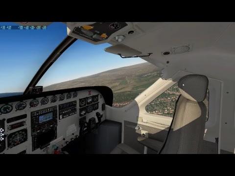 Hamar airport. Practising landing and lining up! Cessna C208B Gran Caravan. X-Plane 11.