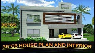 35*65 East face House Plan|| House Interior Ideas