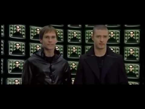 MTVs The Matrix Parody  Ft. Will Ferrell, Justin Timberlake and Seann William Scott