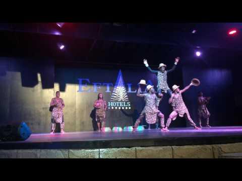 African Acrobatic cheetahs   2016 show in Turkey