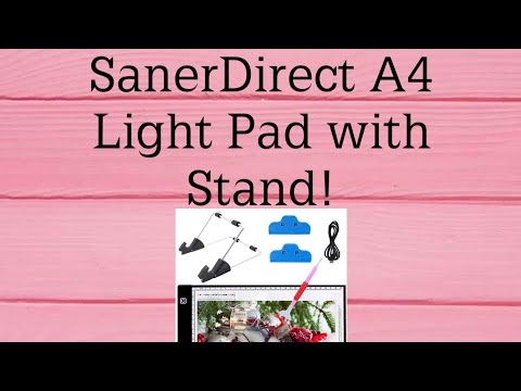8783d20426 Unboxing SanerDirect (Amazon) Light Pad!!! - YouTube