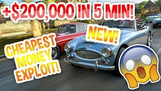 EASIEST MONEY GLITCH | MONEY METHOD | HOW TO MAKE MONEY FAST | FORZA HORIZON 4