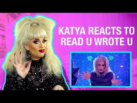 Katya Reacts to Rupaul's Drag Race AS2