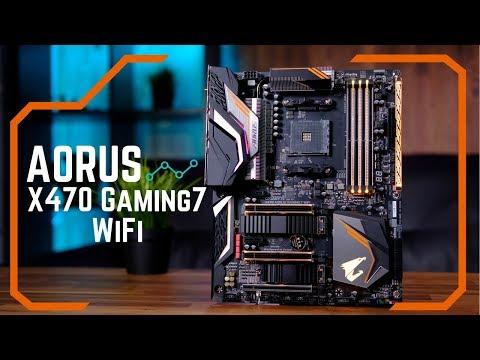 AORUS AMD Ryzen X470 GAMING 7 AC WiFi AM4 ATX Motherboard