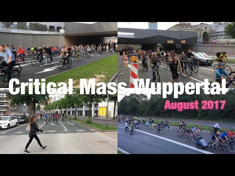 Critical Mass Wuppertal - August 2017