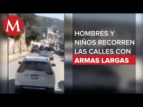 Download El inquietante video de un convoy de la Familia Michoacana ingresando al Estado de México