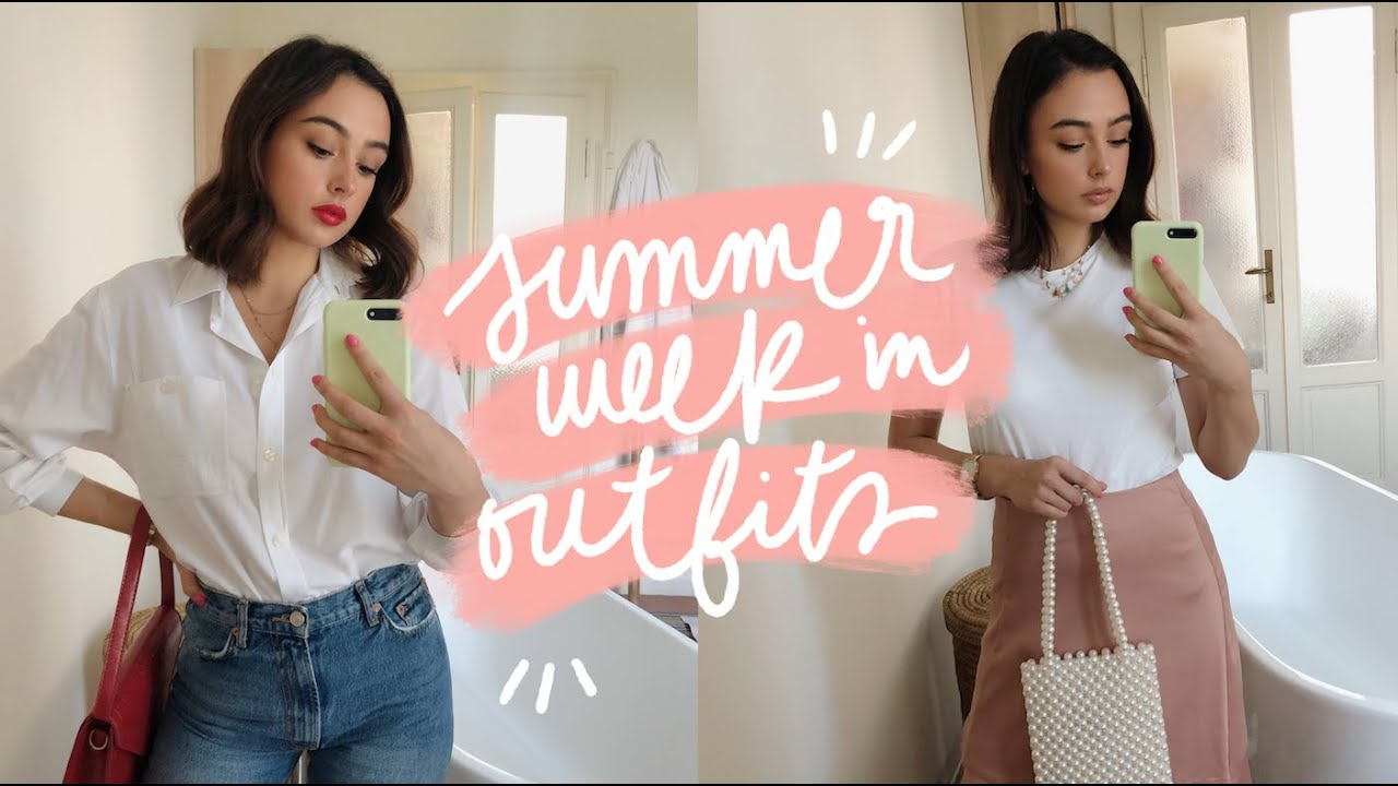 summer week in outfits ? 7