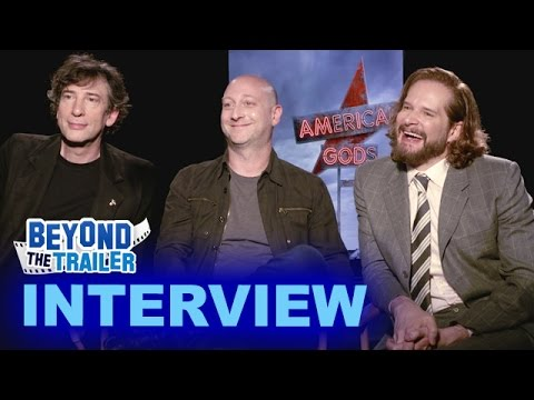 American Gods Interview - Neil Gaiman, Michael Green & Bryan Fuller