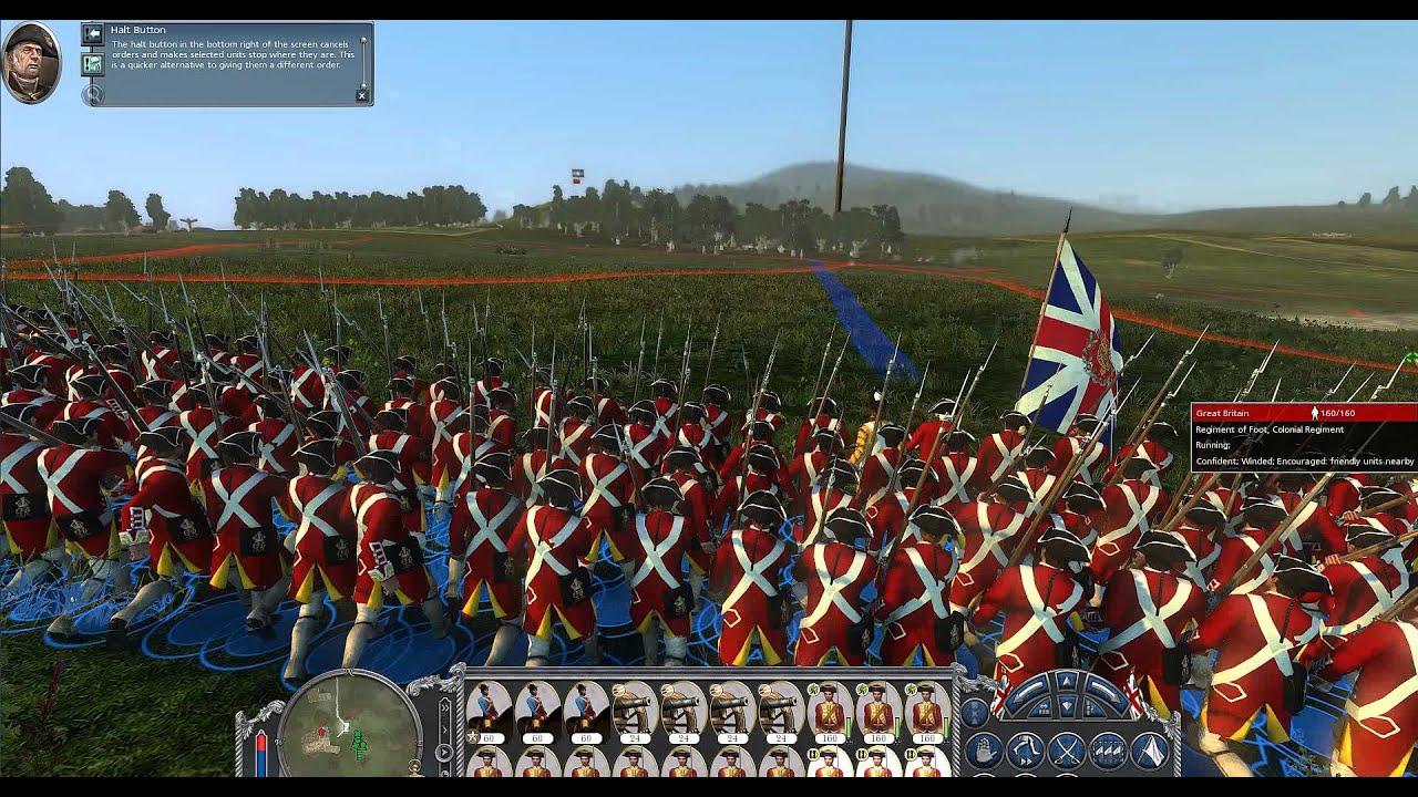 Empire Total War - Imperial Destroyer MOD : British Empire vs Iroquois
