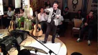 【友近やっくん】 書道パフォーマンス 2012年3月20日 愛媛県松山...