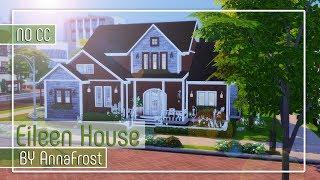 The Sims 4: Строительство | Дом для многодетной семьи | Eileen House