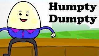 🥚 Humpty Dumpty Sat on a Wall |  Engilsh Kids Nursery Rhymes | HD 🥚 thumbnail