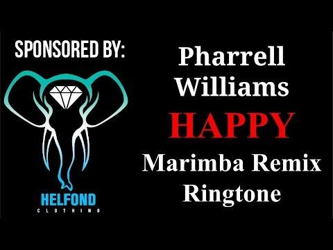 Pharrell Williams - Happy Marimba Ringtone and Alert